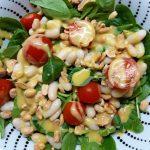 Salata od spanaća sa senf dresingom