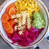 salata sa kiselim lukom i povrcem