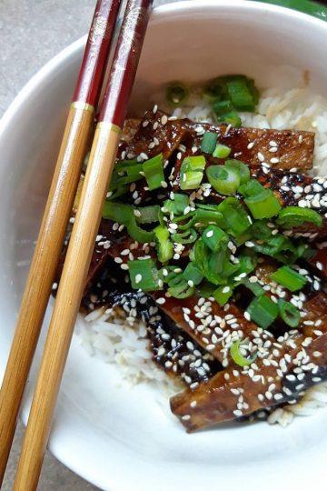 hrskavi slatko ljuti tofu