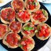 Pohovani patlidžan sa paradajzom