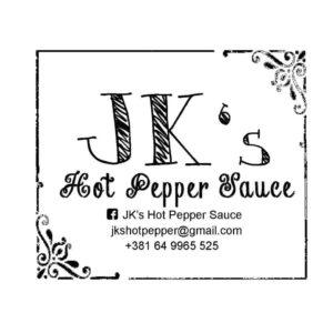 JK's Hot Pepper Sauce