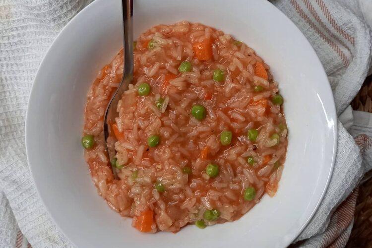 Brzi rižoto s povrćem